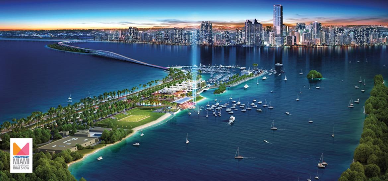Miami Boat Show 2018, Miami Marine Stadium, Virginia Key, Miami, Florida