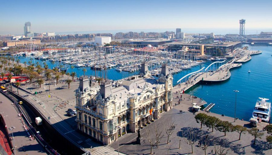 marina port vell, barcelona-luxury marina, the Mediterranean