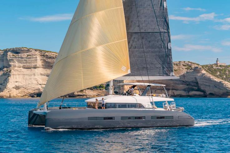 lagoon 77 luxury yacht charter st martin caribbean