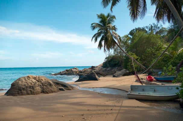 Anse Machabee, Mahe island, Seychelles islands