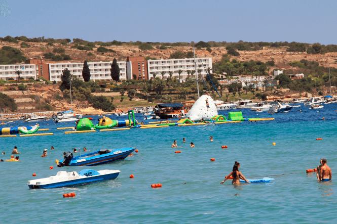 Mellieha Bay Beach MALTA