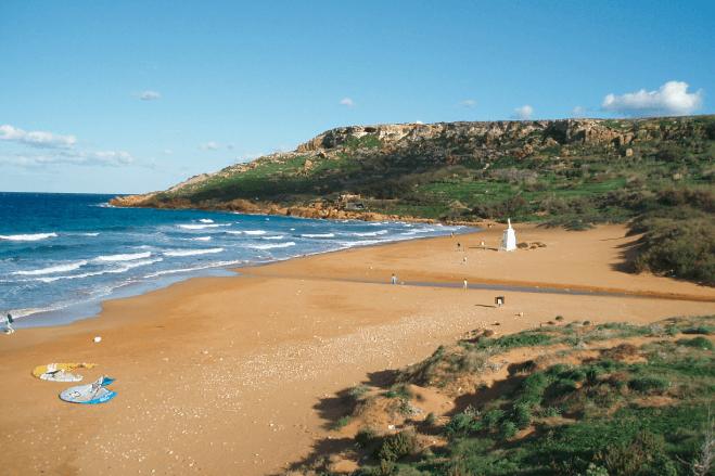 Ramla Bay Malta Beaches