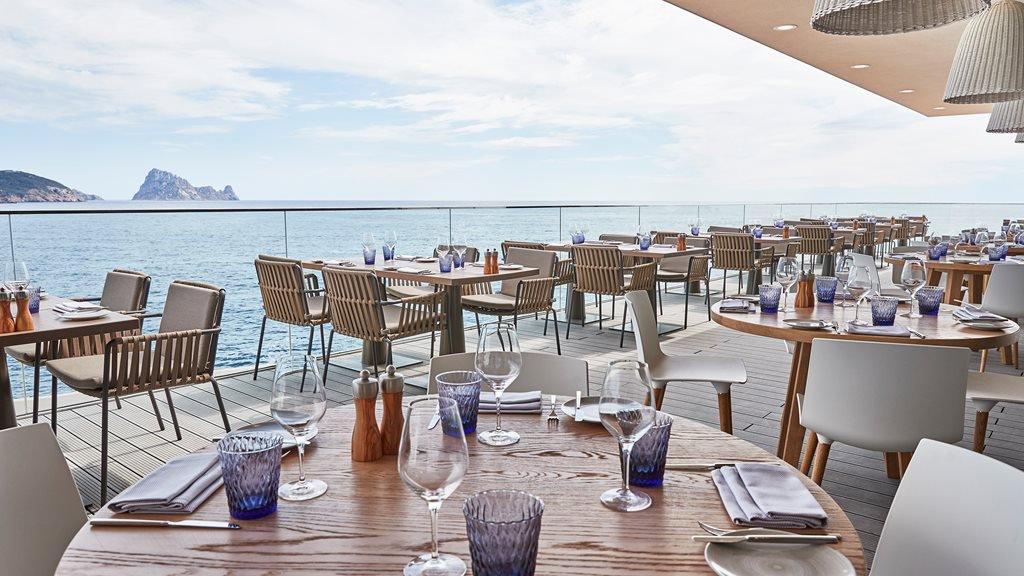 restaurants yacht Mediterranean, The View, Ibiza
