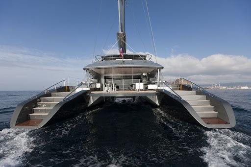 Superyacht charter Cartouche