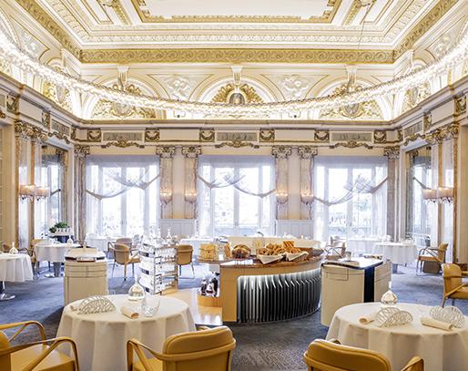 restaurants yacht Mediterranean Le Louis XV, Monaco